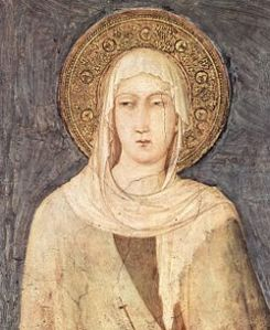 Clare of Assisi, by Simone Martini